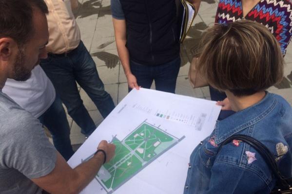 Ростовчане могут принять активное участие в реконструкции парка Собино