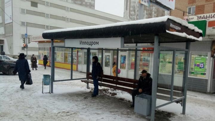 В Перми вместо незаконных киосков поставили новые остановки