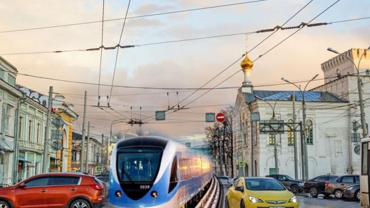 40 километров и 25 станций: в Ярославле хотят построить надземное метро