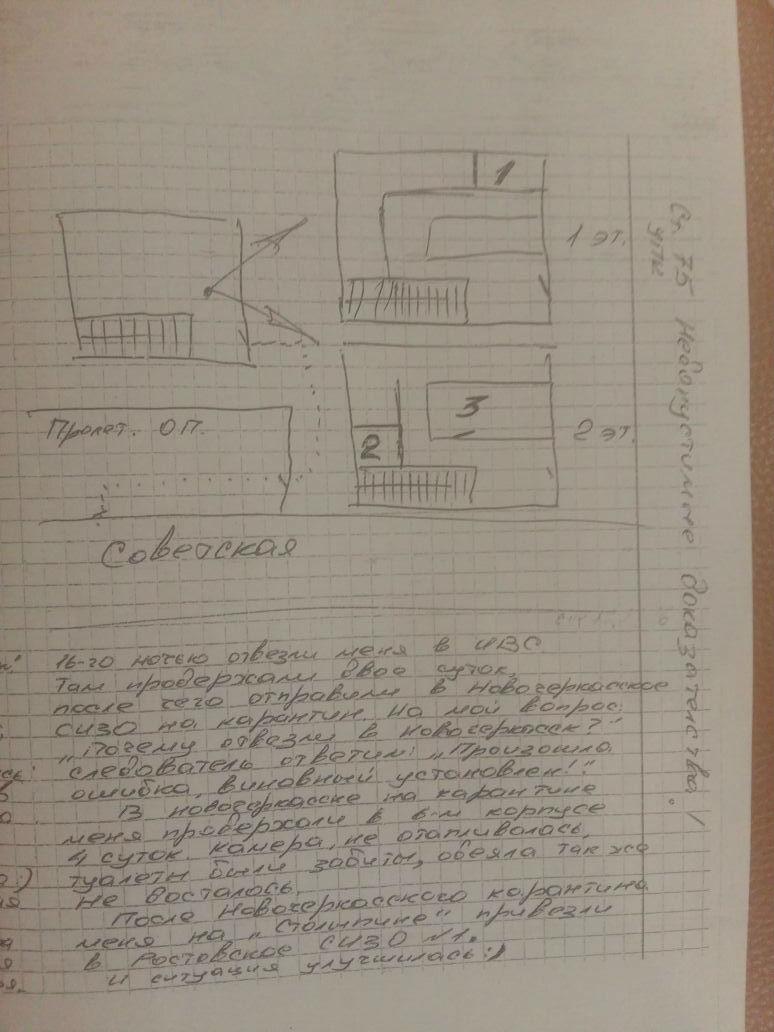 Алексей написал заявление, в котором рассказал о том,  что было в отделе