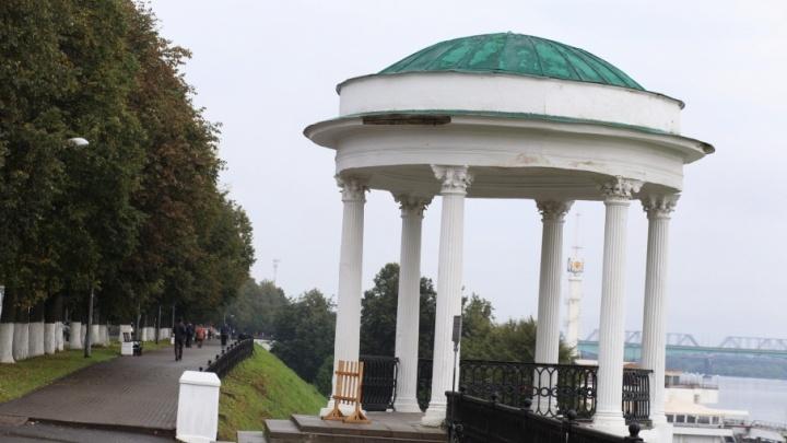 Ярославские следователи проверят опасную беседку на Волжской набережной