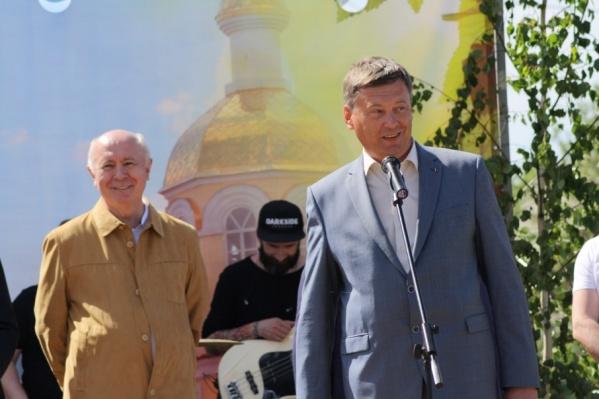 В гости к Николаю Меркушкину приехал экс-мэр Самары Олег Фурсов