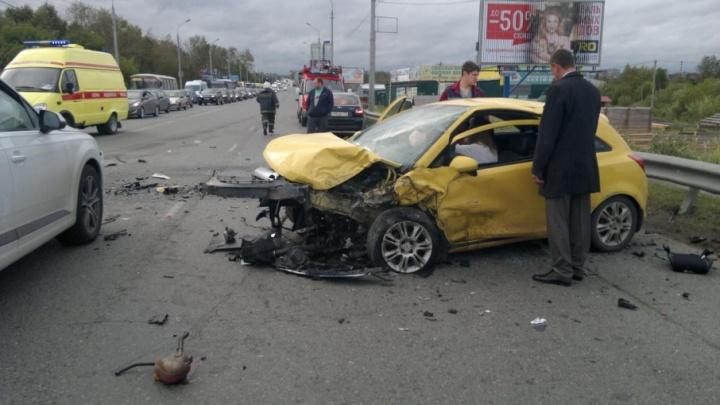 Водитель выехал на встречку: стали известны подробности смертельного ДТП на Камском мосту