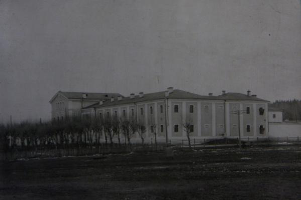 Здание городской тюрьмы.