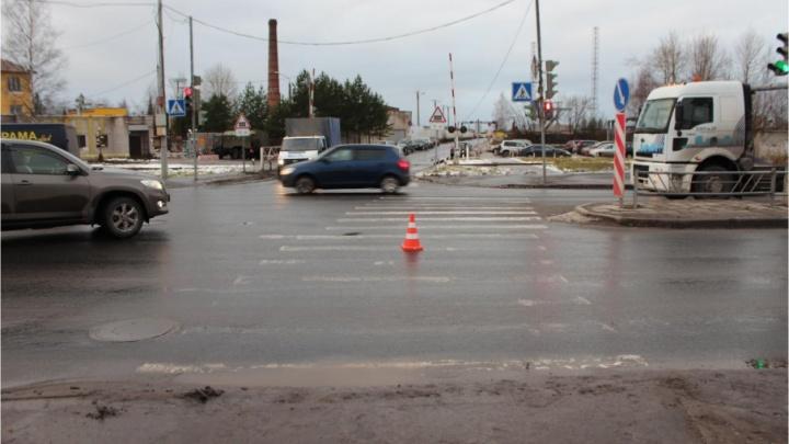 В Северодвинске водитель  «Форда-Транзит» сбил бабушку 69 лет