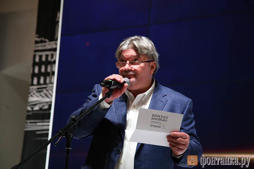 писатель, генеральный директор Агентства журналистских расследований Андрей Константинов