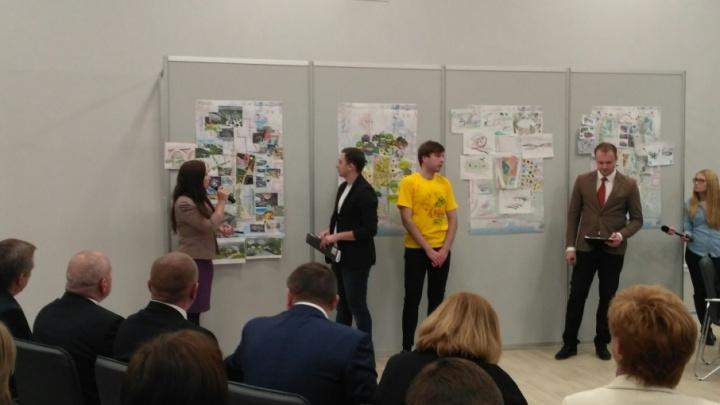 Главная елка или аквапарк: студенты Волгограда показали будущее поймы реки Царицы
