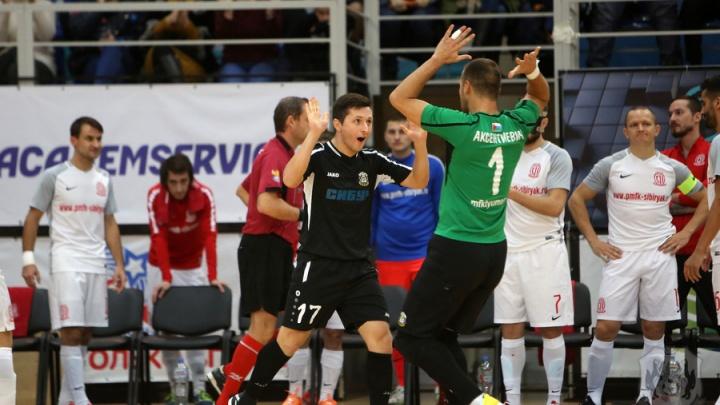 МФК «Тюмень» обыграл «Сибиряка» с отрывом в шесть голов