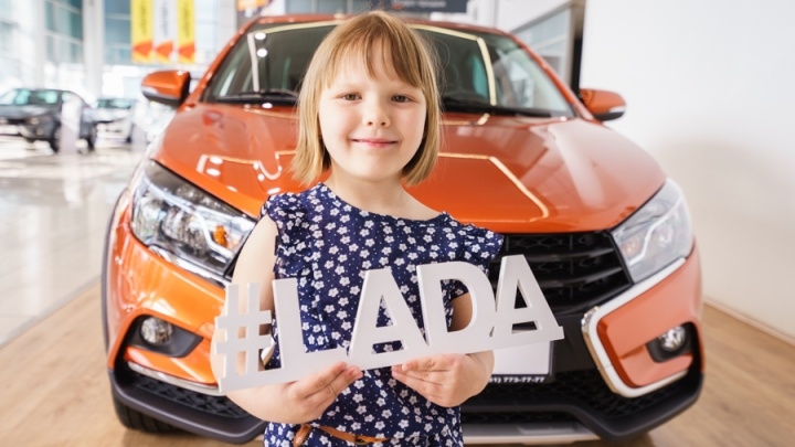 LADA Vesta Cross: челябинцам презентовали жаркую новинку этого лета