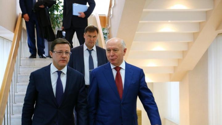Азаров уволил одного вице-губернатора Самарской области