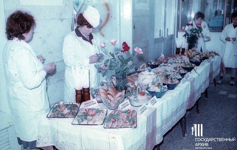 Выставка-продажа в Центральном гастрономе Перми, 23 июня 1986 год