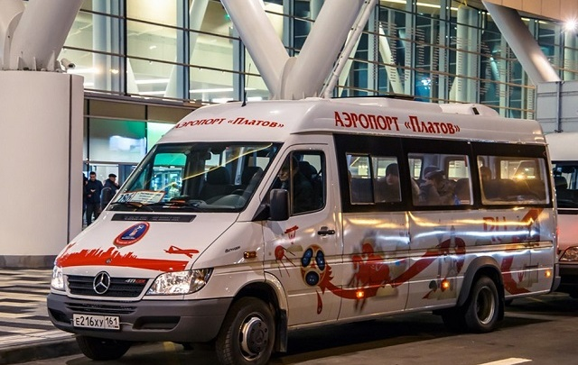 Микроавтобусы маршрута «Ростов — Платов» можно будет увидеть на онлайн-карте