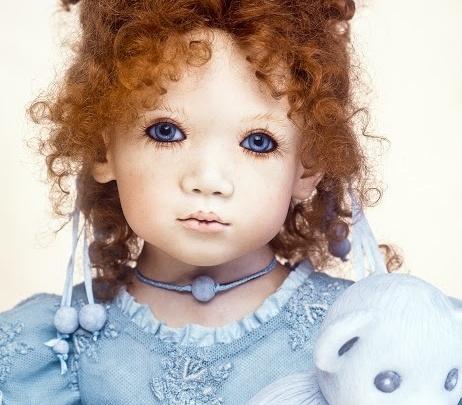 Они живые: в Ярославле откроется выставка авторских кукол и мишек
