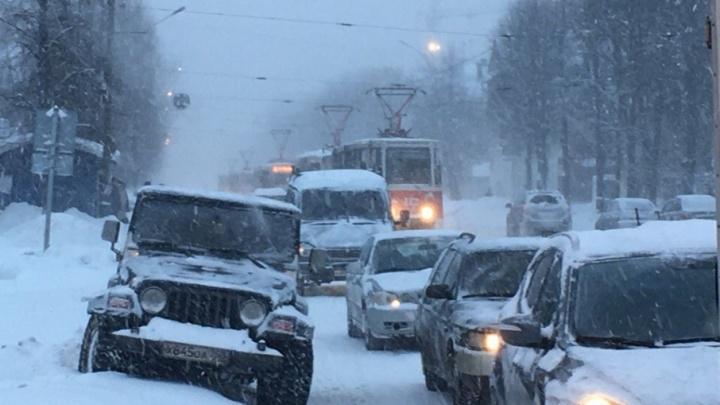 В Ярославле «снежный билет» продлили ещё на сутки
