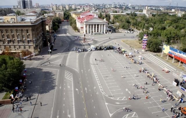 В Волгограде передумали делать улицу Мира пешеходной