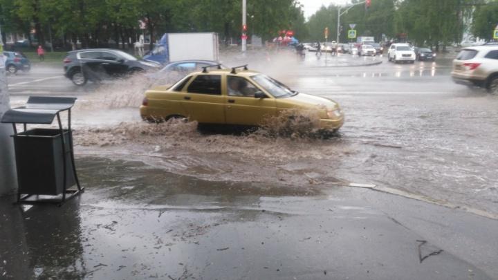 Город плывёт: Уфу затопил ливень