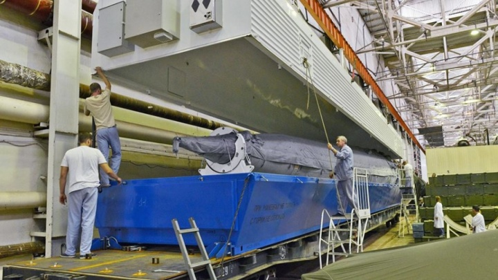 Самарскую ракету-носитель отправили на Восточный