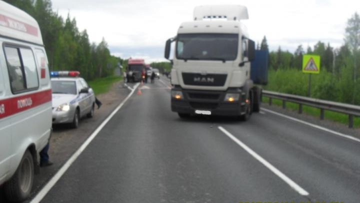 В Виноградовском районе при столкновении с полуприцепом погиб юный велосипедист