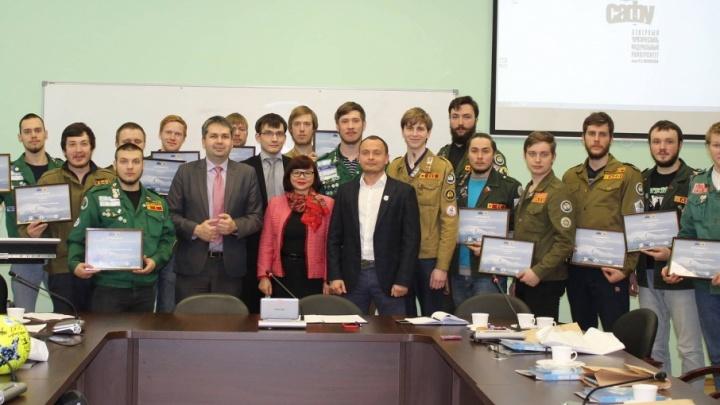 Стройотряд «Гандвик» вернулся в Архангельск после двух месяцев работы в Арктике