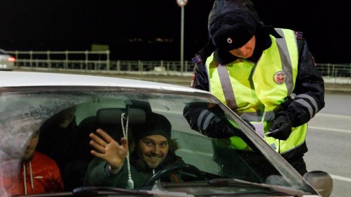 На «танцующем» мосту Волгограда устроят облаву на пьяных и разговорчивых водителей