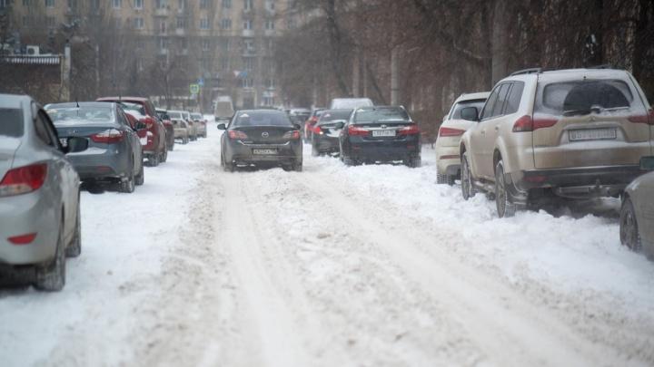 Из-за плохой уборки дорог и аварий Волгоград замер в 10-балльных пробках