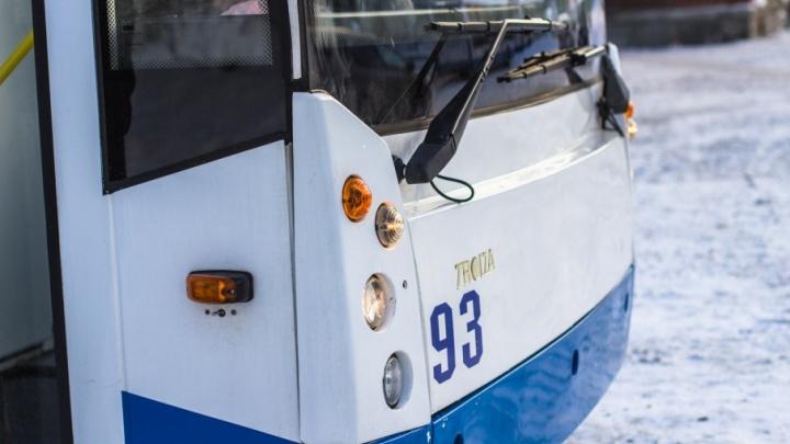 Очевидцы: в Самаре водитель маршрутки ударил водителя троллейбуса