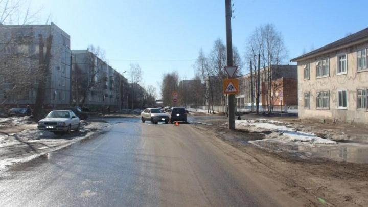 В Северодвинске «Шевроле-Ланос» и «Дэу-Матиз» не поделили дорогу