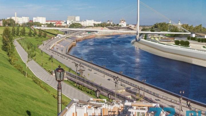 На левом берегу Туры построят 900 метров набережной: смотрим эскизы