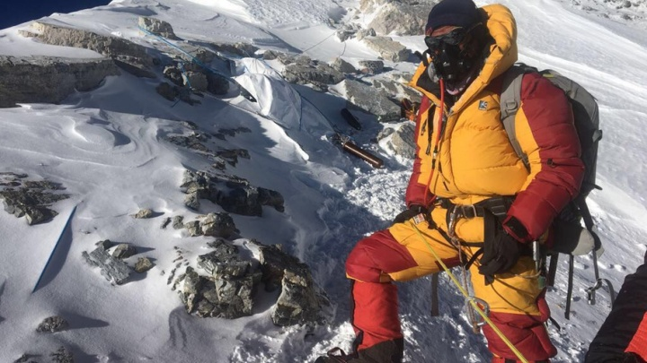 Олег Савченко решил покорить высочайшую в мире пирамиду