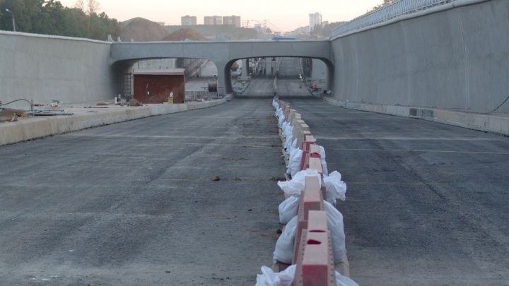 Движение в тоннеле на Московском/Ракитовском шоссе откроют 20 июля