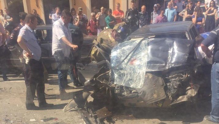 В массовом ДТП на Первомайской пострадал водитель «Лады», в машине нашли шприцы