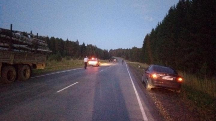 На трассе в Челябинской области погибла велосипедистка