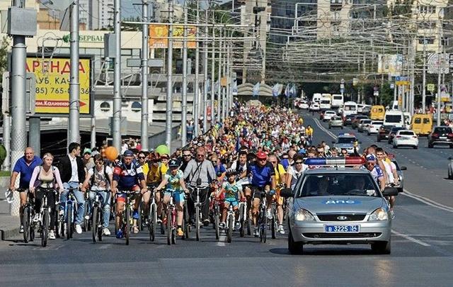 Волгоградцы устроят массовый велопробег