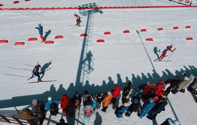 Тюменские биатлонистки выиграли суперспринт этапа Кубка России
