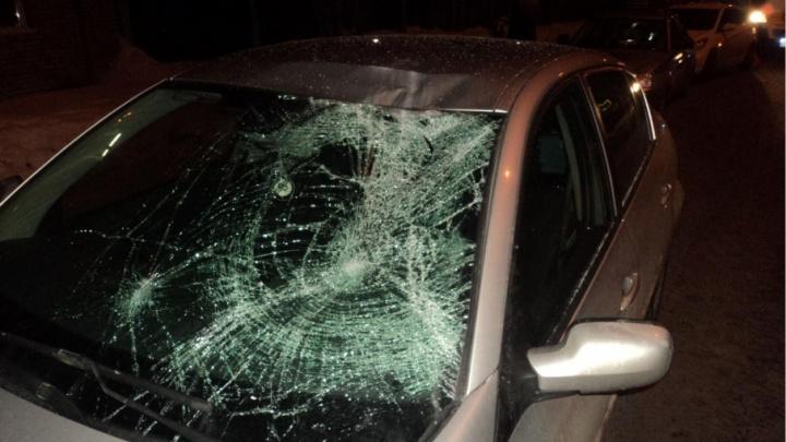 В Ерцево водитель сбил женщину и скрылся с места ДТП