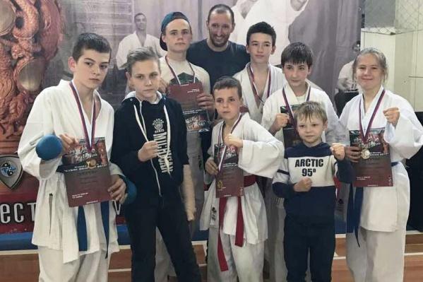 Участники соревнований «Кубок Феникса – 2017» из Ростова