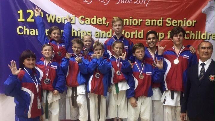 Пермские каратисты принесли сборной России пять золотых медалей