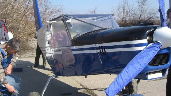 Во Фроловском районе Волгоградской области разбился легкомоторный самолет