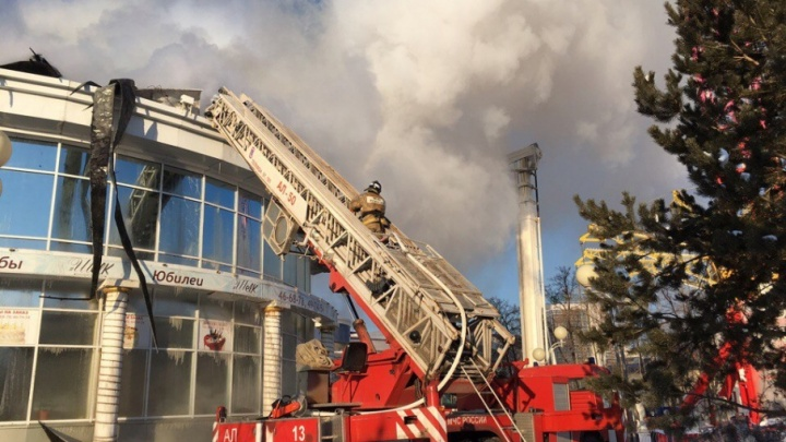 В МЧС назвали возможные причины утреннего пожара в кафе на Герцена