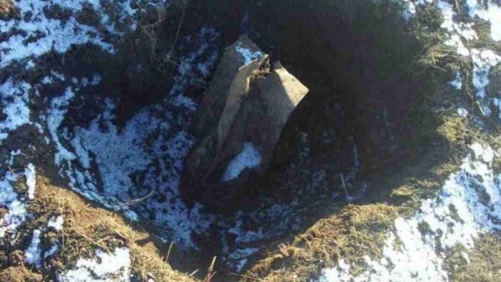 Жители Волгоградской области наткнулись на бомбу