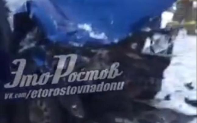 Массовое ДТП под Ростовом: есть жертвы