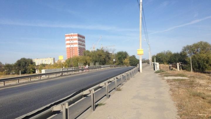 В Волгограде снова обветшал Латошинский путепровод
