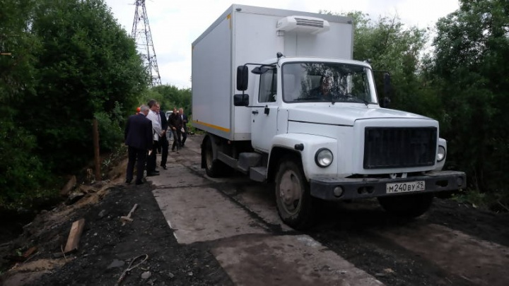Транспортное сообщение с поселком Динамо восстановлено