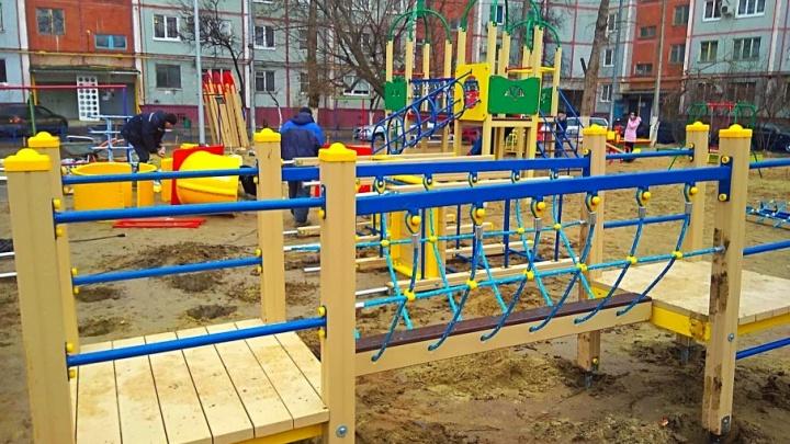 «Чуть не украли горку за полмиллиона»: уникальный случай переноса детской площадки в Волгограде