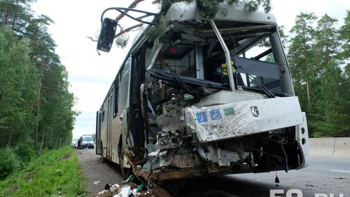 Пермский перевозчик, чей автобус съехал в кювет и врезался в дерево, работал на маршруте нелегально