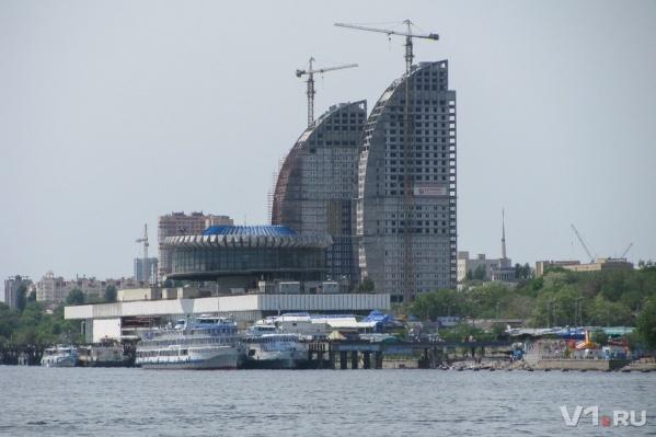 Волгоград в 2007 году активно развивался и строился