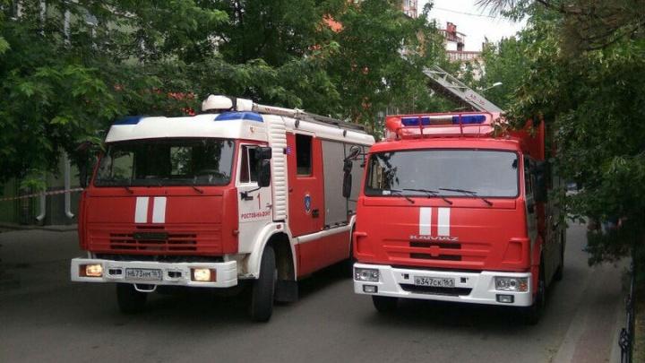 Десять человек эвакуировали из горящего жилого дома на Пушкинской