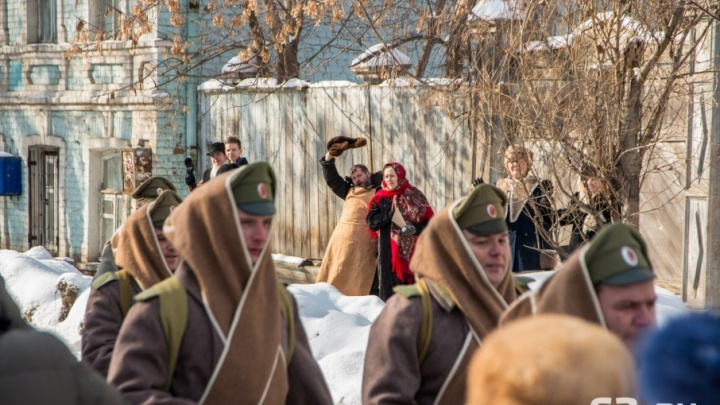 Отправили в бой во Францию: в Самаре сняли сцены для фильма о Первой мировой войне