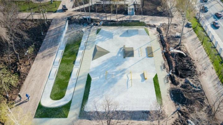 Появились эскизы бетонного скейт-парка в Струковском саду
