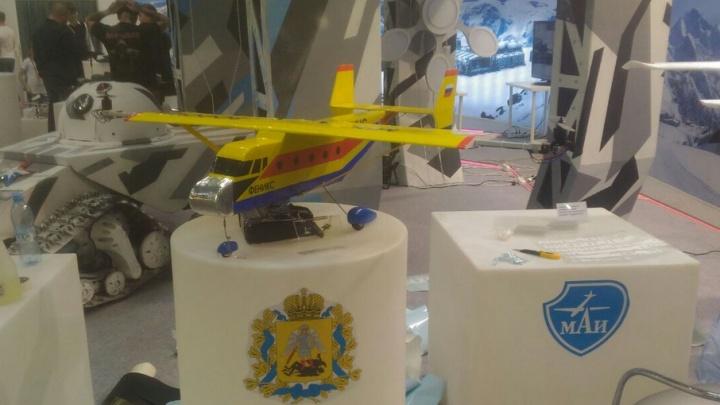 Юный изобретатель Тимофей Голубев представил Поморье на международном техническом фестивале «От винта!»